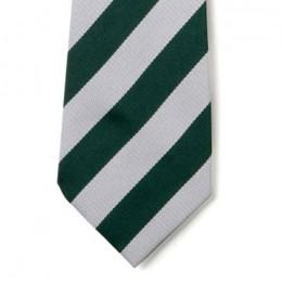 Striped Ties - Green & White
