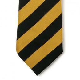 Striped Ties - Black & Gold