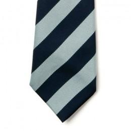 Striped Ties - Navy & Sky