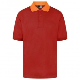 Tipped Polo Shirts (Contrast Collar) (MTO)