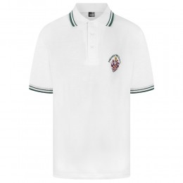 Tipped Polo Shirts (White Tipped Collar) (MTO)