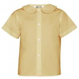Short Sleeve, Non Iron Peter Pan Collar Blouse - Twin Pack (MTO)