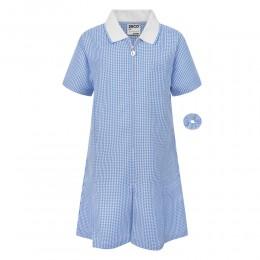 A-Line Gingham Dress