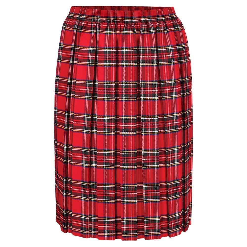 Tartan Box Pleat Skirt (MTO)