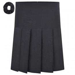 Stretch Pleated Skirt - Long Length