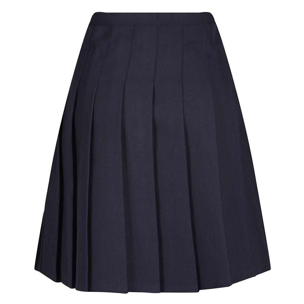 Senior Stitch Down Pleat Eco-Skirt
