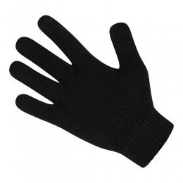 Kids Plain Black Magic Gloves