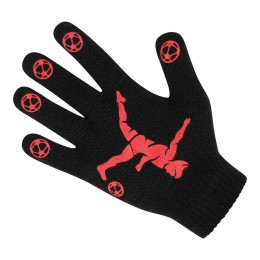 Kids Football Style Gripper Magic Gloves