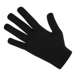 Adults Plain Black Magic Gloves