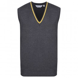 Striped 50/50 Knitted Sleeveless Jumper (MTO)