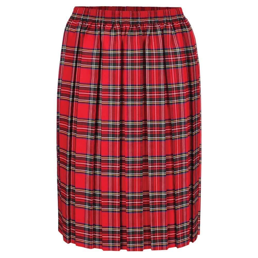 Tartan Box Pleat Skirt (MTO)